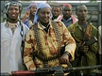 Somali Islamic militia men