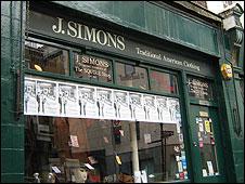 J. Simons shop
