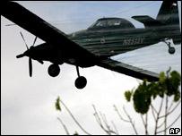 Avión fumigador