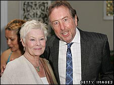 Dame Judi Dench and Eric Idle