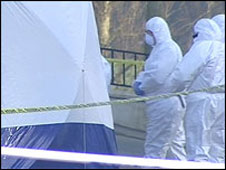 Forensic examination of the scene 