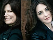 Fenella Barton and Simone Dinnerstein. Photo Credit: Lisa Marie Mazzucco