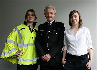 New Metropolitan Police uniform designs, including a fluorescent cape and