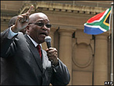 Jacob Zuma (archive picture)