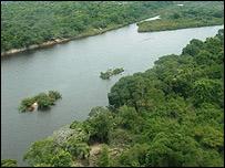 Río San Martín en Bolivia. Foto: Gusatavo Ybarra.
