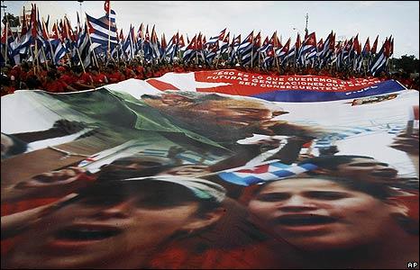 May Day in Havana
