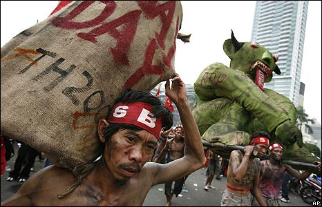 May Day in Jakarta