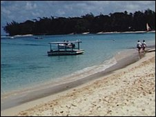 Bardbados beach