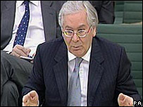 El gobernador del Banco de Inglaterra, Mervyn King