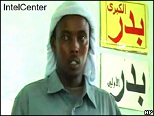 Screengrab of video reportedly showing Aden Hashi Ayro