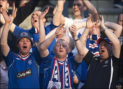 More Rangers fans
