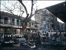 Mumbai blasts, 1993 (Pic: Fawzan Husain)