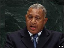 Frank Bainimarama, file image