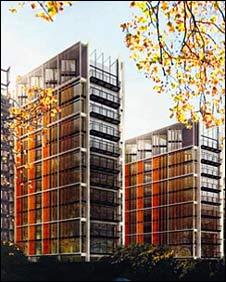 One Hyde Park development in London (artist's impression)