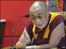 The Dalai Lama in Dharamsala, India - 2/5/2008