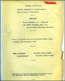 National Archive document