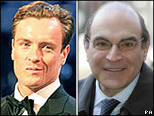 Toby Stephens and David Suchet