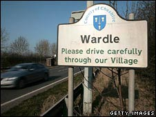 Cheshire sign