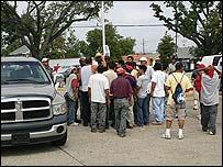 Trabajadores hispanos