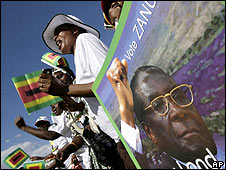 Robert Mugabe supporters