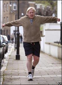 Boris Johnson Jogging Shorts