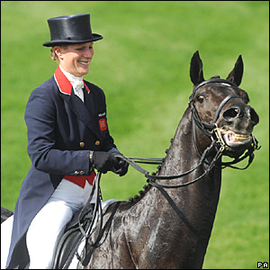 Zara Phillips on Glenbuck