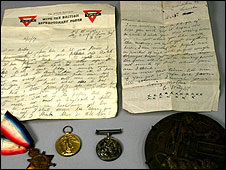Thomas Wright's belongings