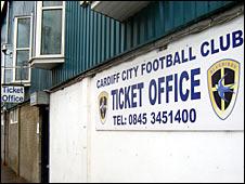 Cardiff City FC ticket office