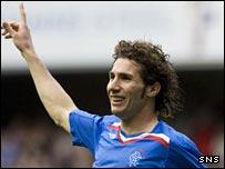 Rangers defender Carlos Cuellar