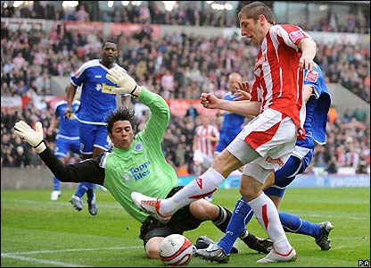 Cresswell is denied a goal