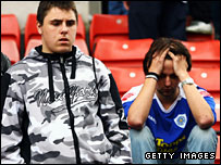 Leicester fans must come to terms with life in League One