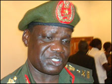 Defence Minister Dominic Dim Deng (Copyright: The Sudan Tribune www.sudantribune.com)