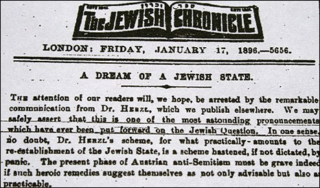 Reproduced with permission of The Jewish Chronicle