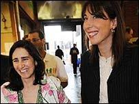 Марина Уилер и Саманта Камерон
