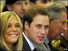Chelsy Davy, Prince William and Prince Charles