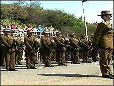 Gurkhas in Sandgate
