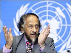IPCC chair Rajendra Pachauri. Image: AP