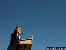 Hillary Clinton campaigns in South Bend, Indiana, 4 May
