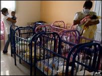 Orfanato en San José Pinula, Guatemala