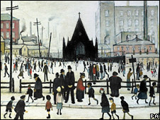 BBC NEWS | Entertainment | Lowry paintings to be auctioned