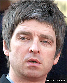 Oasis guitarist Noel Gallagher