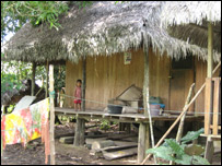 Casa de madera en Jaldar.
