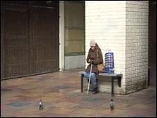 Taff Vale shopping precinct, Pontypridd