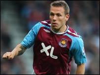 West Ham and Wales striker Craig Bellamy
