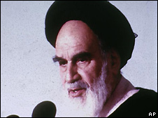 Ayatollah Khomeini - file photo