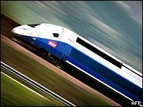 Tren construido por Alstom