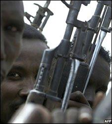 Somali policemen