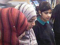 School Reporters from Mayfield School in Dagenham, Essex