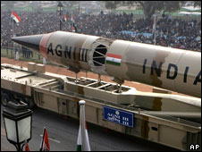 Indias Agni missiles increase military reach and political instability in the Region.