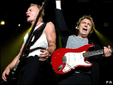 Sting and Andy Summers